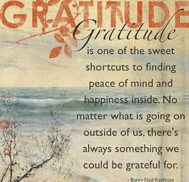 Gratitude Grateful Give Thanks