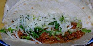 taco veggies vegan tacos protein beef crumbles foods