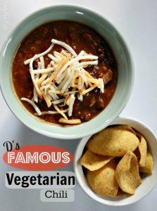 Chili Vegetarian Vegan Crumbles Protein foods
