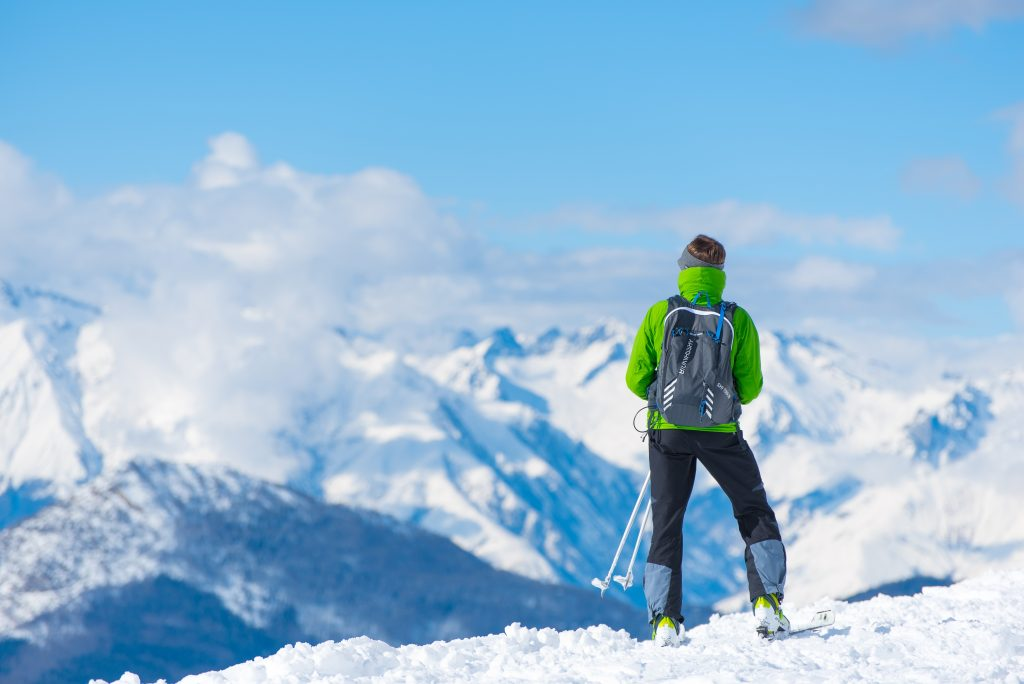Skiing Outdoors Sports Snow Winter
