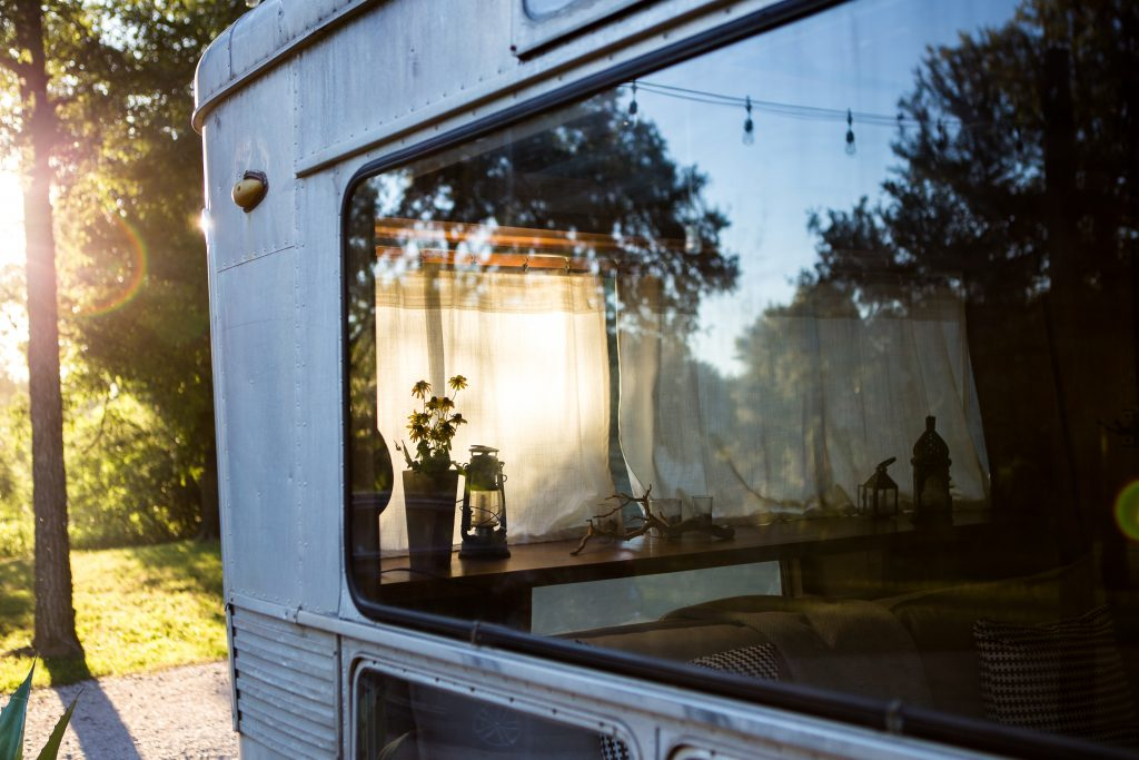 Mobile Home Travels Living