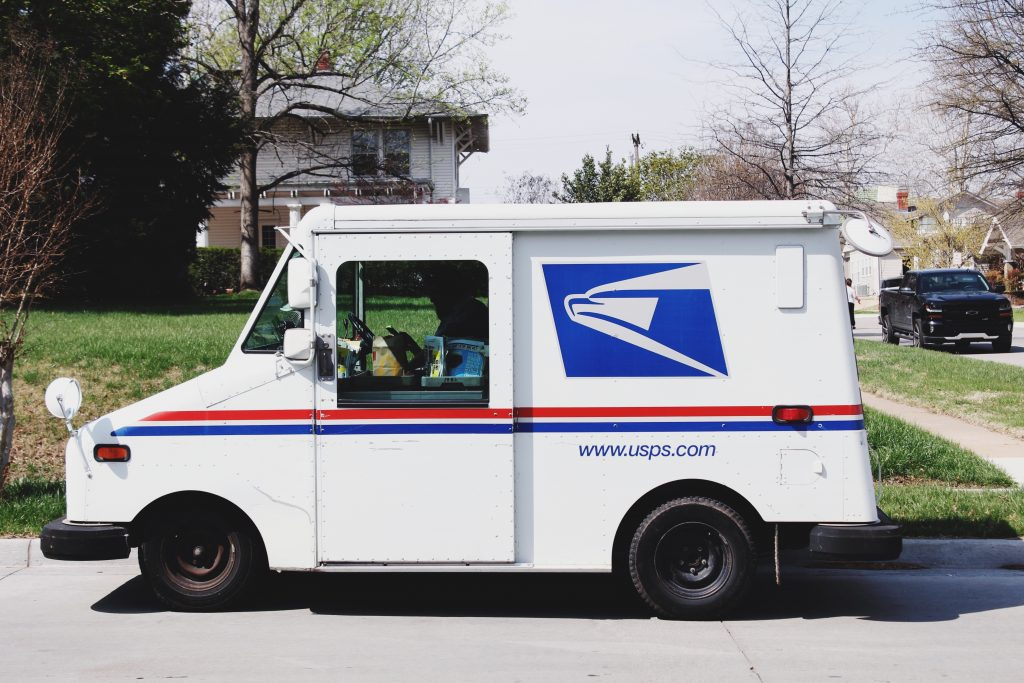 Thank Mail Carrier Mailman Postman Mail Woman